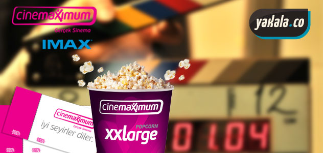Cinemaximum Sinema Biletinde İndirim