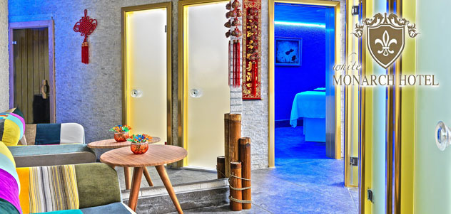 White Monarch Hotel'den Masaj ve SPA