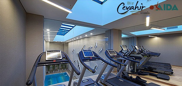 Biz Cevahir Aida Wellness Club'ta Fitness