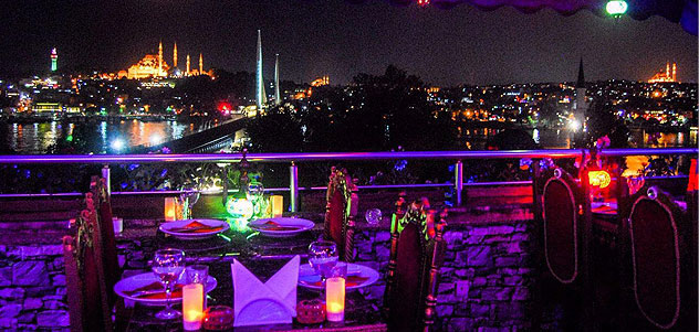 Galata Secret Point'te İftar Menüsü