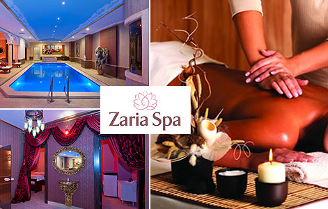 Crystal Hotel Zaria Spa'dan Masaj ve SPA