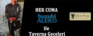 The Green Park Merter'de Taverna Gecesi